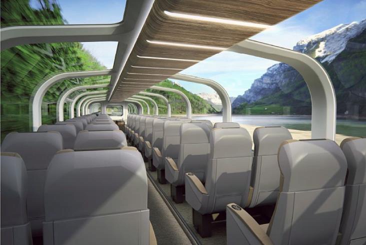 Stadler dostarczy do Kanady zupełnie nowy pociąg panoramiczny