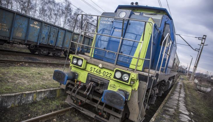 PKP Cargo wozi koks do Niemiec
