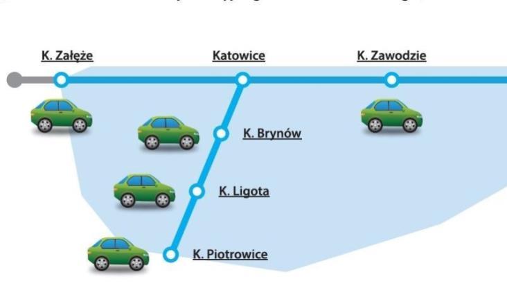 Ulice zamknięte na Tour de Pologne, więc KŚ wożą za darmo kierowców