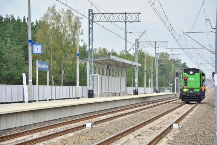 PLK otwiera przystanek Warszawa Mokry Ług i Zielonkę Bankową (zdjęcia)
