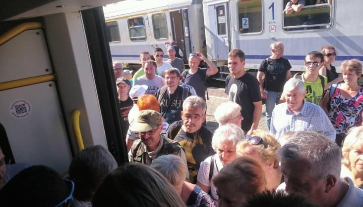 PR: W pociągach do Medzilaborzec obowiązują standardowe zasady