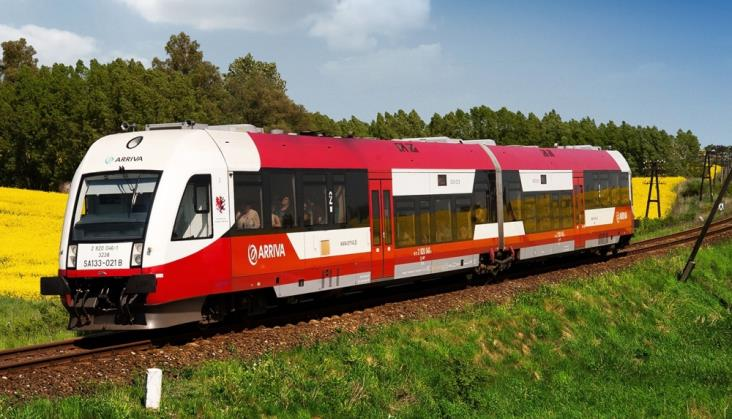 Arriva zadowolona z frekwencji w pociągach na Hel