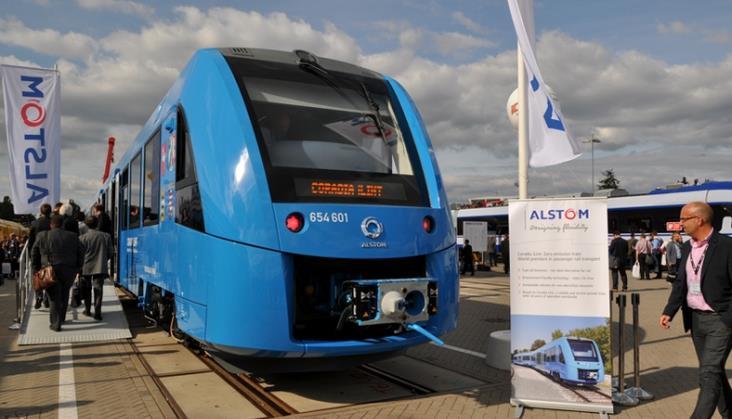 Alstom przedstawia swój bezemisyjny pociąg Coradia iLint