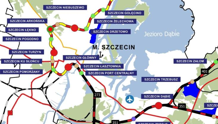 Szczecińska Kolej Metropolitalna coraz bliżej realizacji