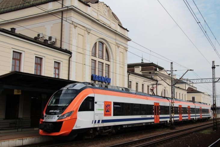 Małopolskie: Od grudnia 13,5 mln zł więcej na kolej, 31 nowych pociągów