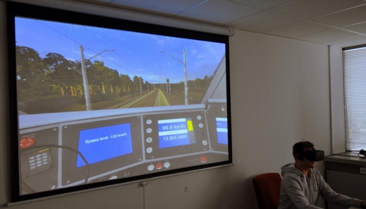 Symulator kolejowego eko-drivingu przydatny także na uczelniach
