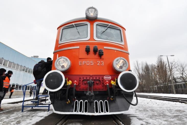 EP05 znów poprowadzi pociągi PKP Intercity [zdjęcia]