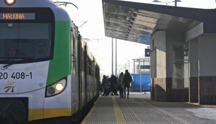 Kolej bezpieczniejsza dzięki pasażerom