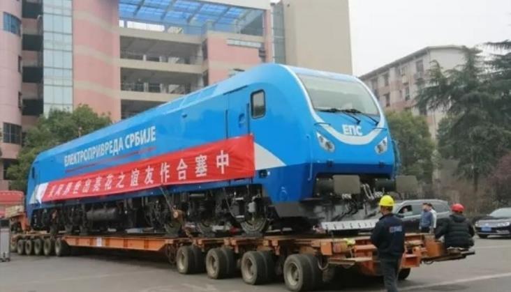 Chińskie lokomotywy płyną na Bałkany