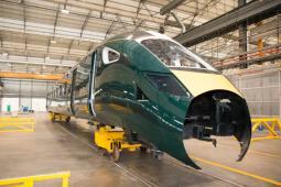 Hitachi rusza z produkcją pierwszego składu intercity dla Great Western Railway