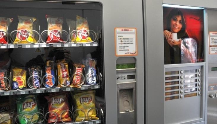 PKP Intercity zamawia automaty z przekąskami do pociągów