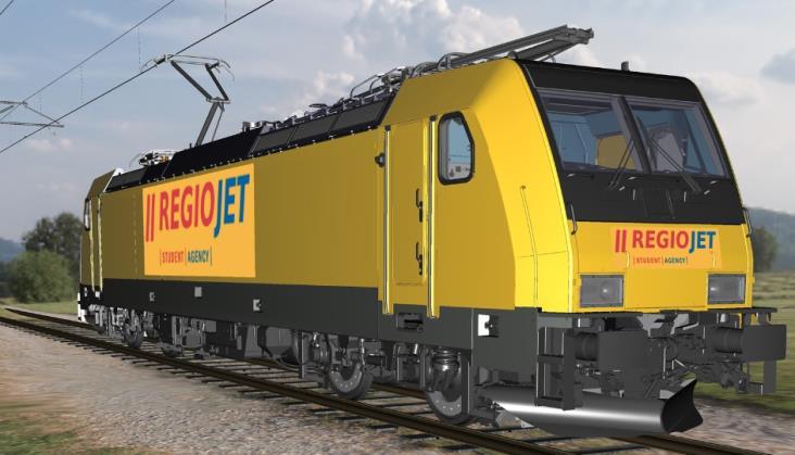 Regiojet kupuje lokomotywy od Bombardiera i rumuńskie wagony z Astry
