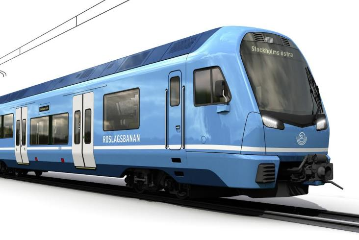 Stadler dostarczy wąskotorowe elektryczne pociągi do Sztokholmu