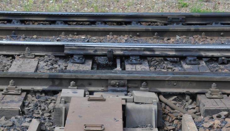 Dwa pociągi na jednym torze w Podstolicach