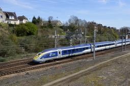 Najnowsze pociągi Eurostaru już na trasie Londyn – Bruksela