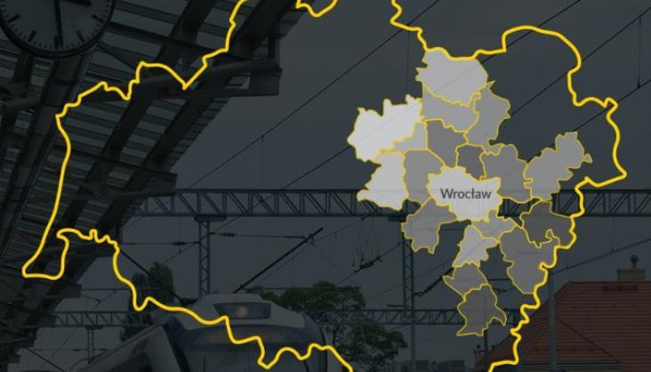 Wrocławska Kolej Aglomeracyjna się powiększy. Chętnych aż 20 gmin