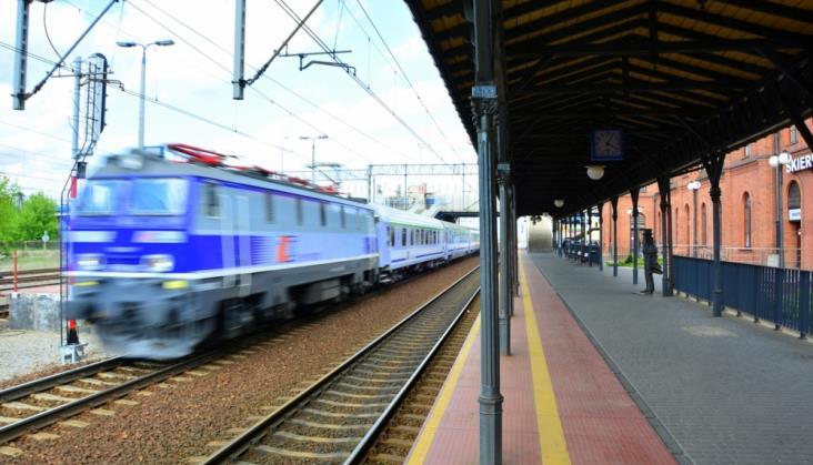 Mimo zimy poprawiła się punktualność kolei. Dane za pierwszy kwartał