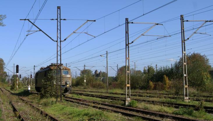 Nowa sieć trakcyjna na kolejowej obwodnicy Krakowa