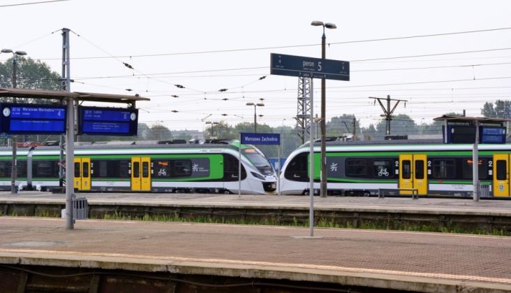Koleje Mazowieckie otwierają zaplecze na Grochowie dla zwiedzających