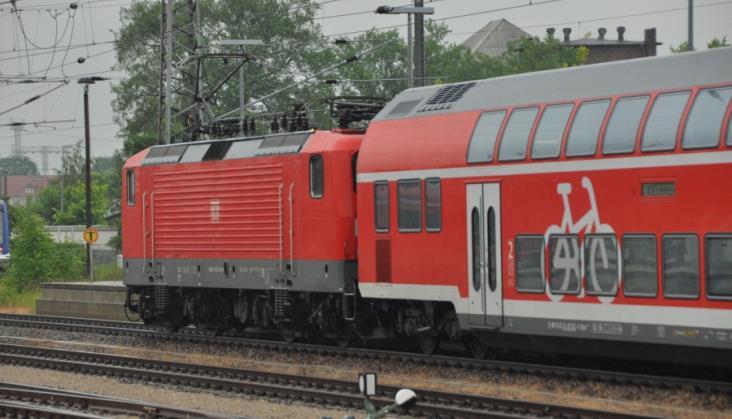 W pociągach regionalnych na północy Niemiec można rezerwować miejsca