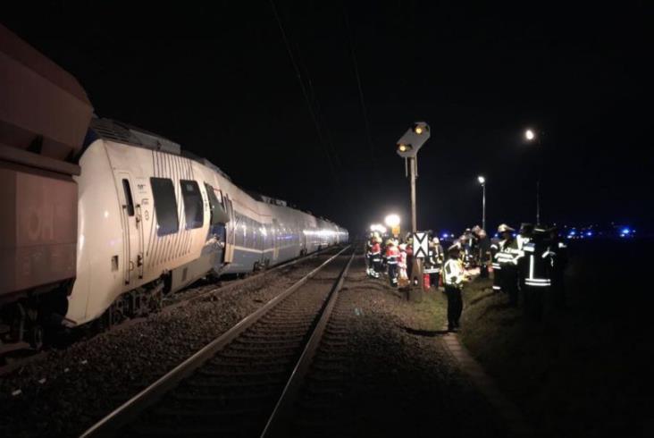 Katastrofa kolejowa w Niemczech. Rannych 47 osób