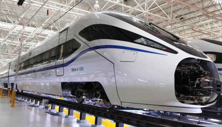 Bombardier współpracował z CRC przy produkcji 23 szybkich pociągów dla Chin