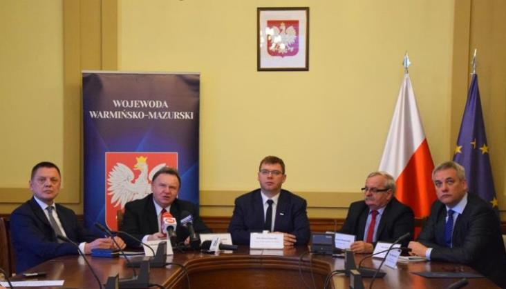 Olsztyn: Wojewoda zaprezentował plany GDDKiA i PLK