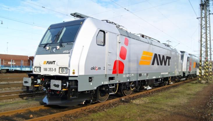 Akiem wypożyczył AWT lokomotywy Traxx