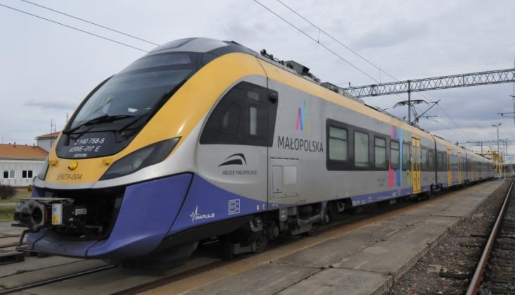 Małopolska kupi 4 nowe elektryczne pociągi z pomocą UE