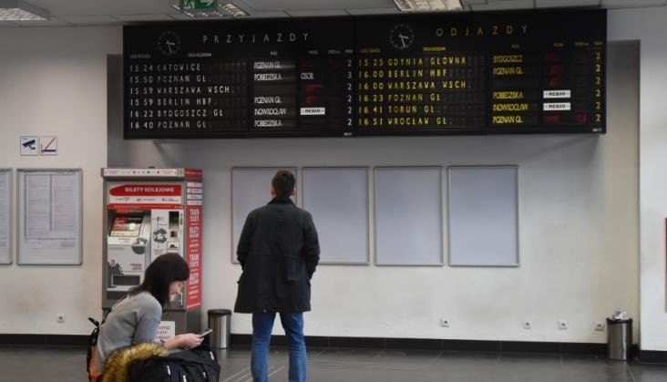 Na co skarżą się pasażerowie polskiej kolei?