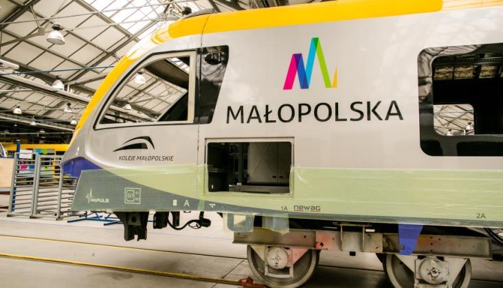 Nowe małopolskie elektryczne pociągi pojadą w ramach SKA