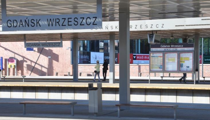 Start systemu informacji pasażerskiej w Gdańsku Wrzeszczu znów przełożony