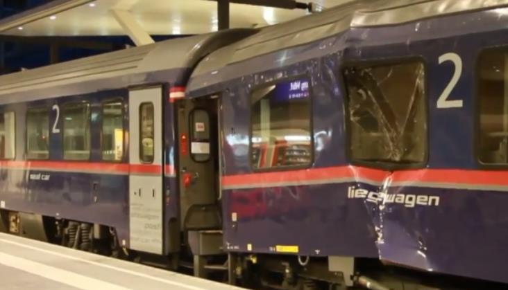 Zderzenie pociągów w peronach stacji Salzburg. Są ranni