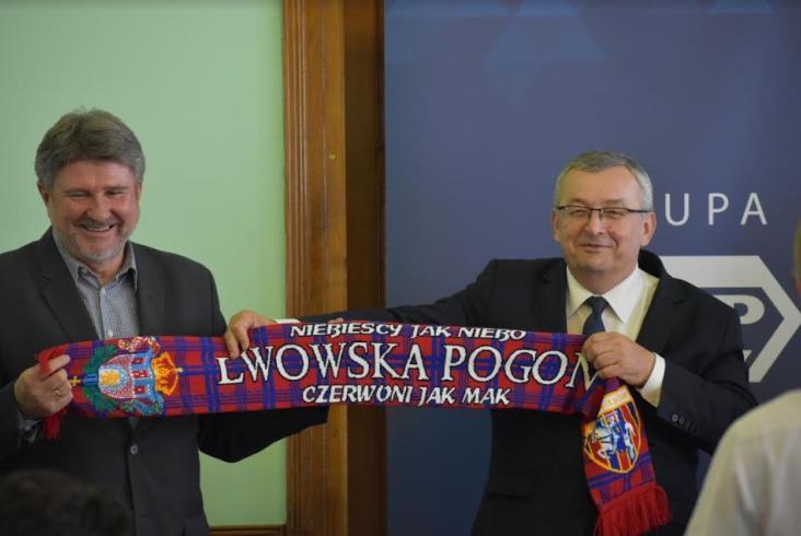 Fundacja Grupy PKP wesprze Pogoń Lwów