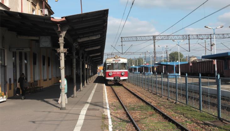 Ruszyło kolejowe wahadło na trasie Nowy Sącz – Stary Sącz