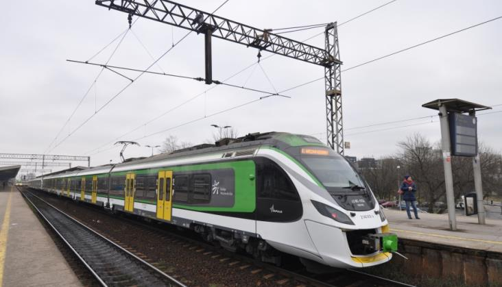 Ciąg dalszy dużych utrudnień w ruchu pociągów na Mazowszu
