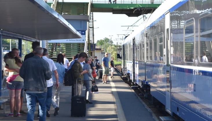 UTK: Kwiecień 2017 niezły dla kolei pasażerskiej