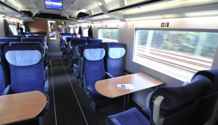Kontrola biletów w niektórych pociągach DB nie jest konieczna