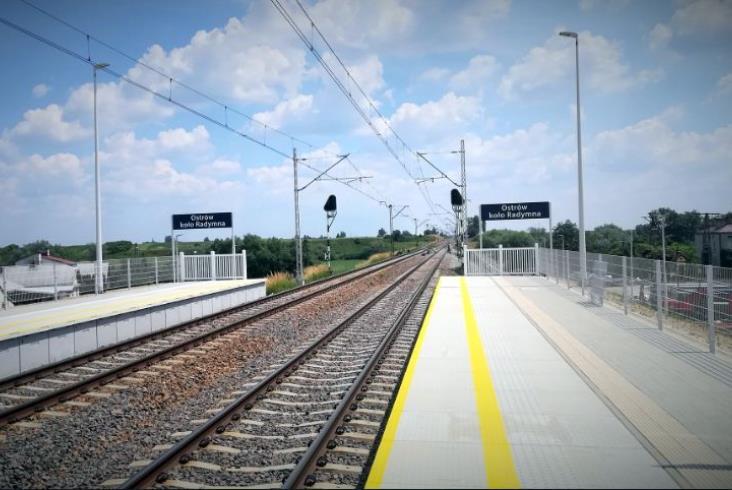 Nowy przystanek na linii Rzeszów - Przemyśl