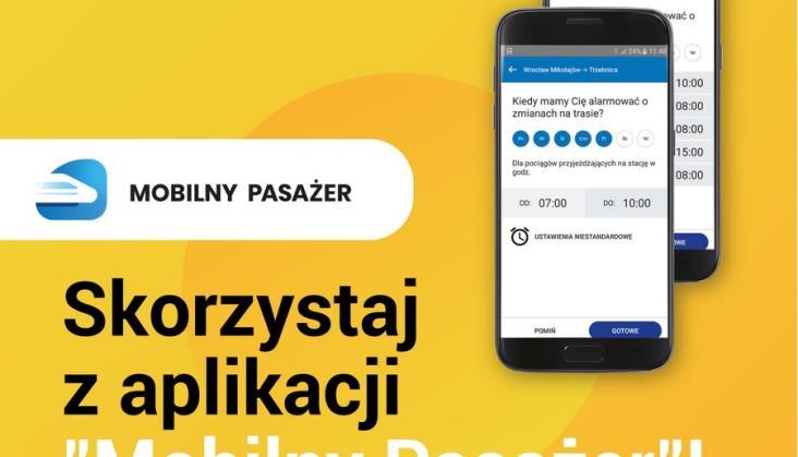 Nowa aplikacja mobilna w Kolejach Dolnośląskich