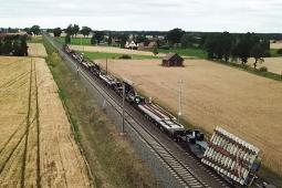 Track Tec: Dziewięć rozjazdów w jednym pociągu