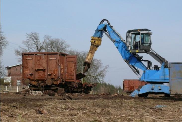 Potentat na rynku złomu uruchomi własne przewozy kolejowe