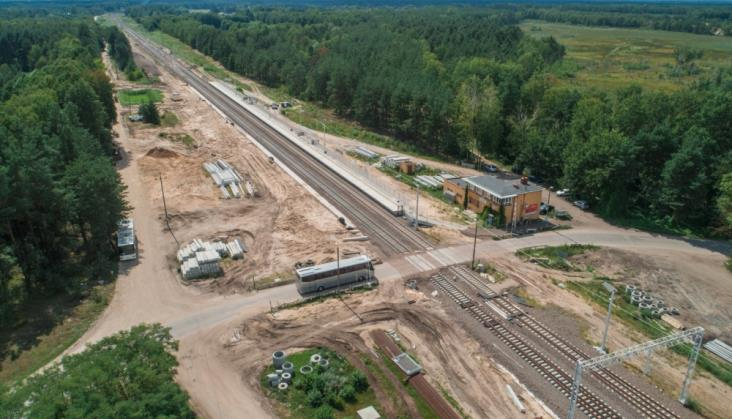Dwie firmy chcą modernizować Rail Baltikę między Czyżewem a Białymstokiem