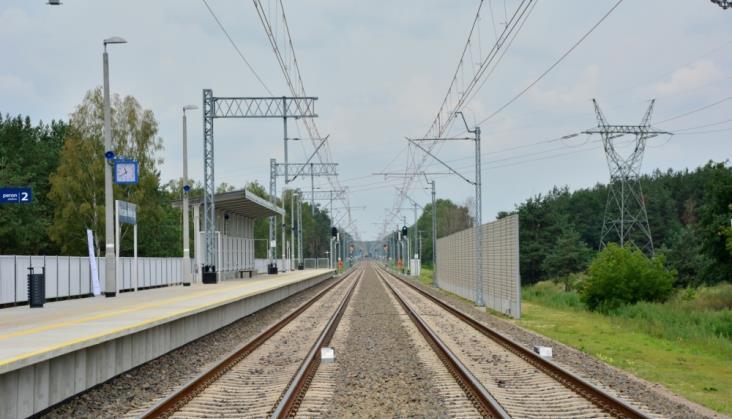 PLK modernizują trasę Łódź Kaliska – Zduńska Wola