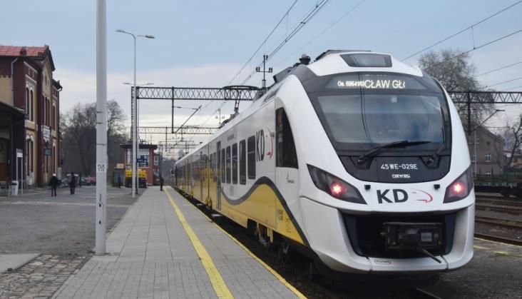 Kolejny rekord w Kolejach Dolnośląskich. W 2018 roku 25% pasażerów więcej niż w 2017