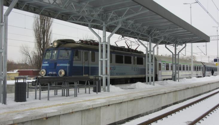 Nowy peron oddany do użytku w Stalowej Woli Rozwadowie