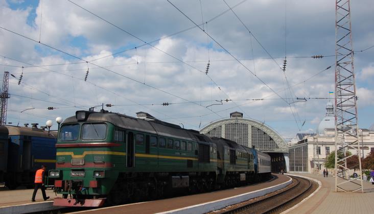 Ukraina ogranicza ruch pociągów międzynarodowych do Rosji