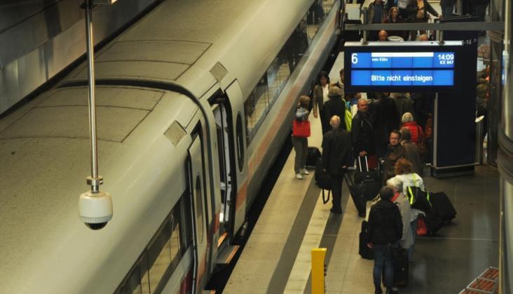 Duże utrudnienia w ruchu pociągów między Szwajcarią a Niemcami