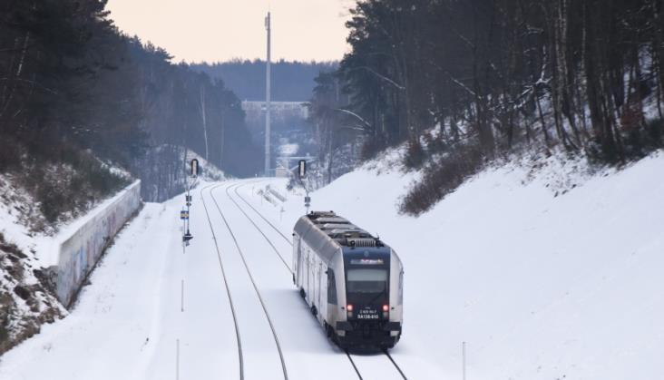 W styczniu 2019 na kolei znów było więcej pasażerów