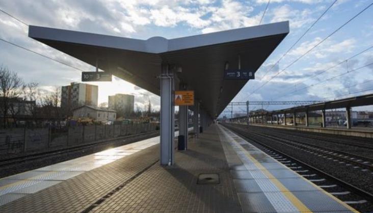 Stacja Radom z dynamiczną informacją pasażerską. Jest przetarg